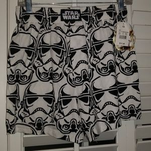 NWT Star Wars Stormtrooper Shorts